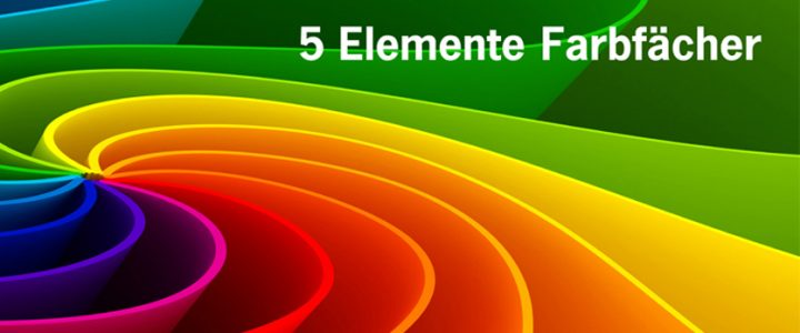 5-Elemente-Farbfächer